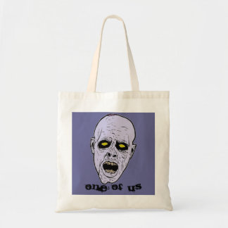 One of Us Zombie Tote Tote Bag