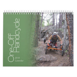 One Off Handcycle 2010 Calendar