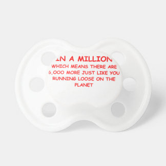 one on a million BooginHead pacifier