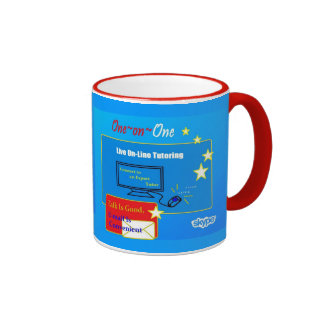 One~on~One Tutoring Specializing in General Living Ringer Coffee Mug