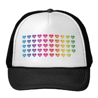 One Orlando One Pulse Rainbow 49 Hearts Trucker Hat