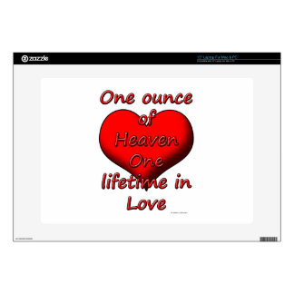 One ounce of Heaven, One lifetime in Love Skin For Laptop
