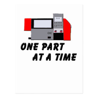 One Part At A Time Postcard