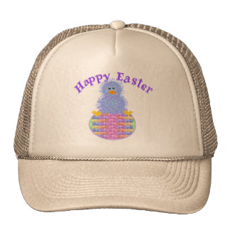 One Peep Egg Trucker Hat