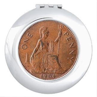 One Penny Compact Mirror
