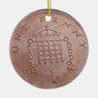 one penny ornament