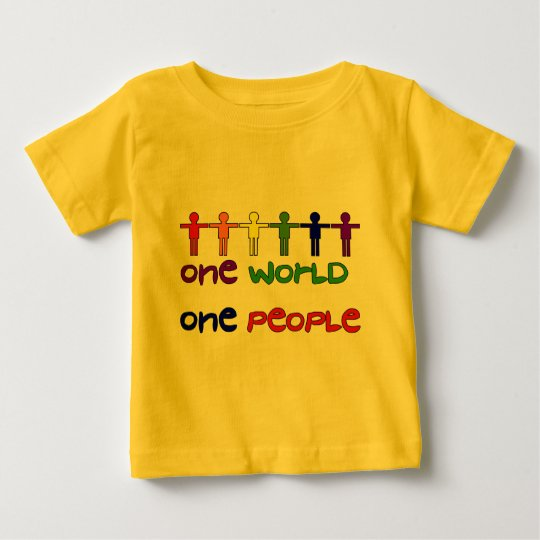 One People Baby T-Shirt
