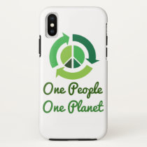 One people one planet iPhone x case