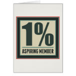 One Percent Aspiring Member Cards