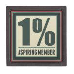 One Percent Aspiring Member Premium Jewelry Box