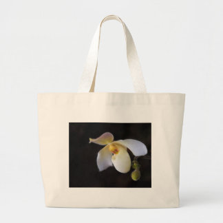 One Perfect Lady Slipper Large Tote Bag