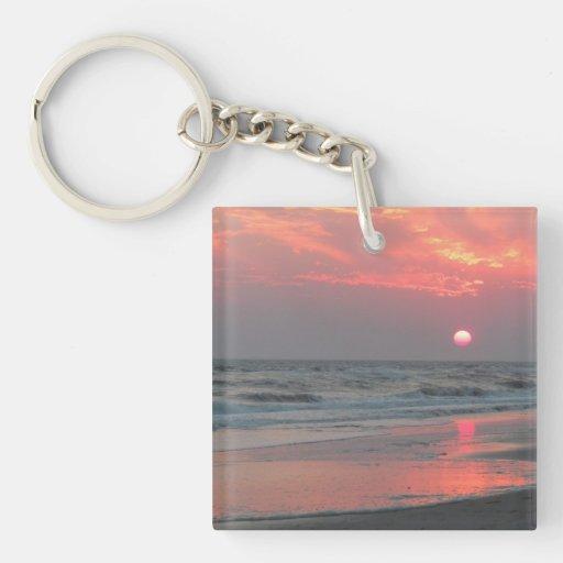 One Perfect Sunset Acrylic Key Chains