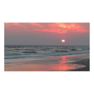 One Perfect Sunset - Oak Island, NC Business Card