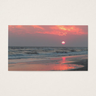 One Perfect Sunset - Oak Island, NC Business Card