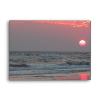 One Perfect Sunset - Oak Island, NC Envelope