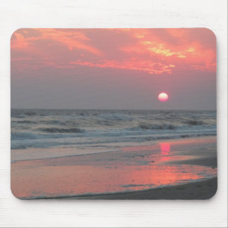 One Perfect Sunset - Oak Island, NC Mouse Pad