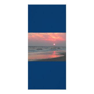 One Perfect Sunset - Oak Island, NC Rack Card