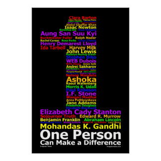 One Person Can Make a Difference ( Poster )