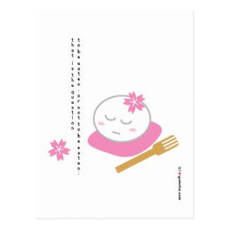 One Philosophical Mochi Postcard