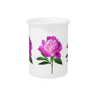 One Pink Peony Drink Pitcher