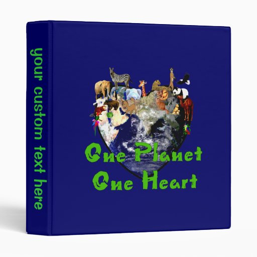 One Planet One Heart Binders