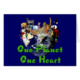 One Planet One Heart Card