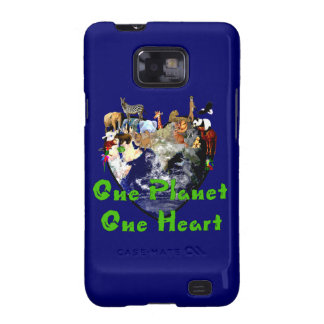 One Planet One Heart Samsung Galaxy S2 Covers