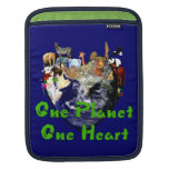 One Planet One Heart Sleeve For iPads