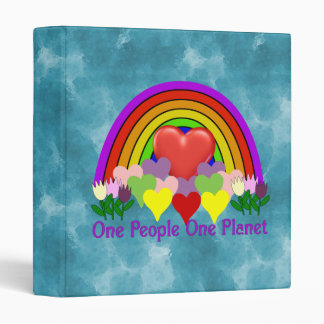 One Planet One People 3 Ring Binder