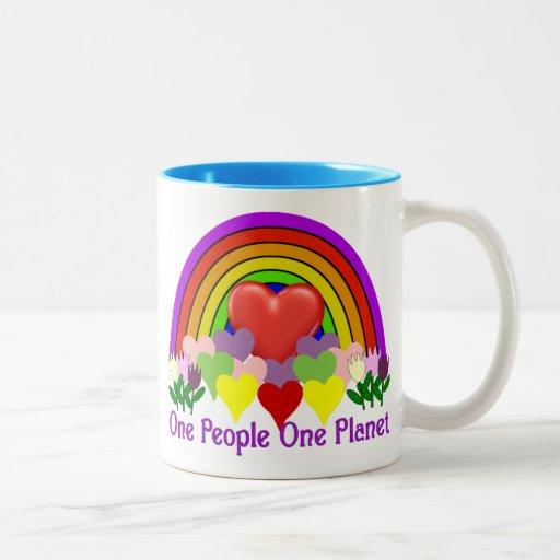 One Planet One People Mug