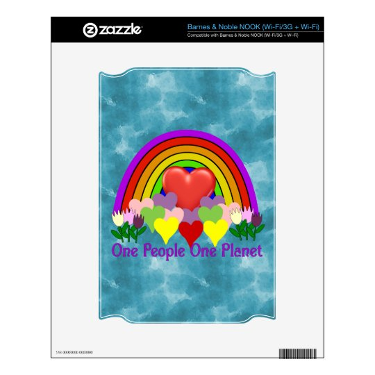 One Planet One People NOOK Decals