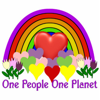 One Planet One People Photo Cut Outs