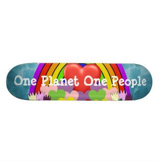 One Planet One People Skate Board Decks