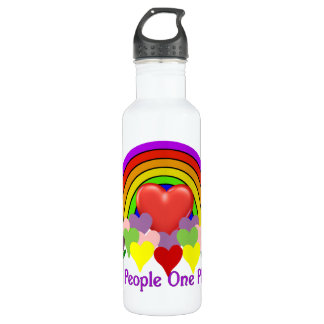 One Planet One People Stainless Steel Water Bottle