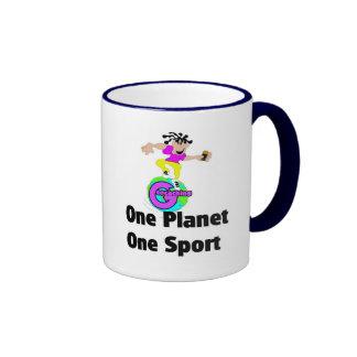 One Planet One sport Coffee Mugs