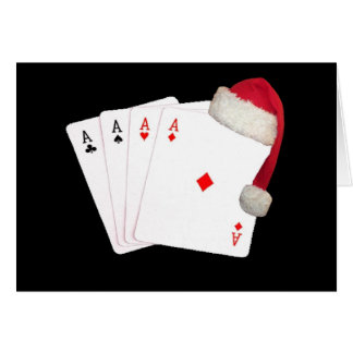 One poker player, to another Christmas Card