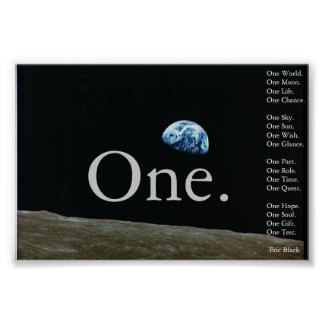 One. Poster