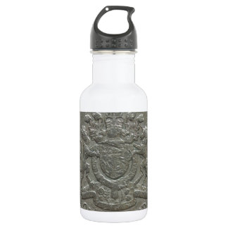 One pound coin water bottle