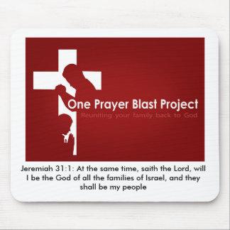 one prayer_large, Jeremiah 31:1: At the same ti... Mouse Pad