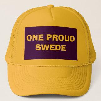 ONE PROUD SWEDE TRUCKER HAT