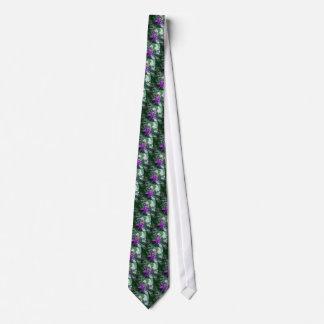 One Purple Starfish Neck Tie