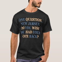 One Question New Jersey Dark T-Shirt