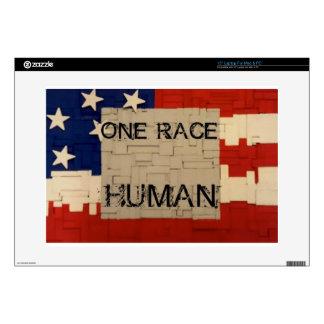 "One Race Human 15"" Laptop Skins"