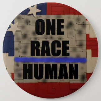 ONE RACE - HUMAN Button