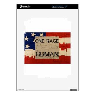 One Race Human iPad 2 Decal