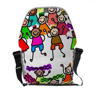 One Race: Human Messenger Bags