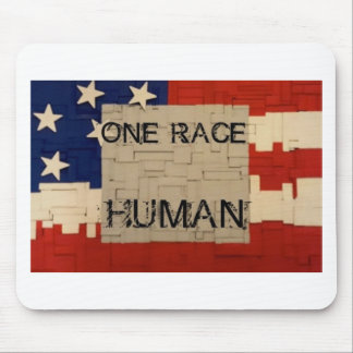 One Race Human Mouse Pad