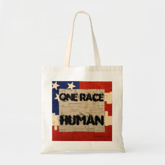 One Race Human Tote Bag