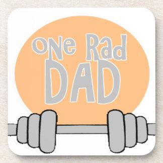 One Rad Dad Drink Coaster