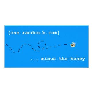 One Random B photo card